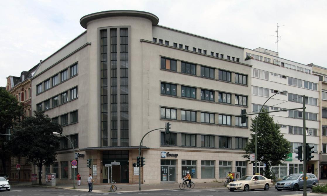 Das Gebäude in Tempelhof, welches die Unternehmenszentrale der Erfolgsmanufaktur Berlin beherbergt.
