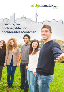 Broschüre Coaching für Hochbegabte/Hochsensible